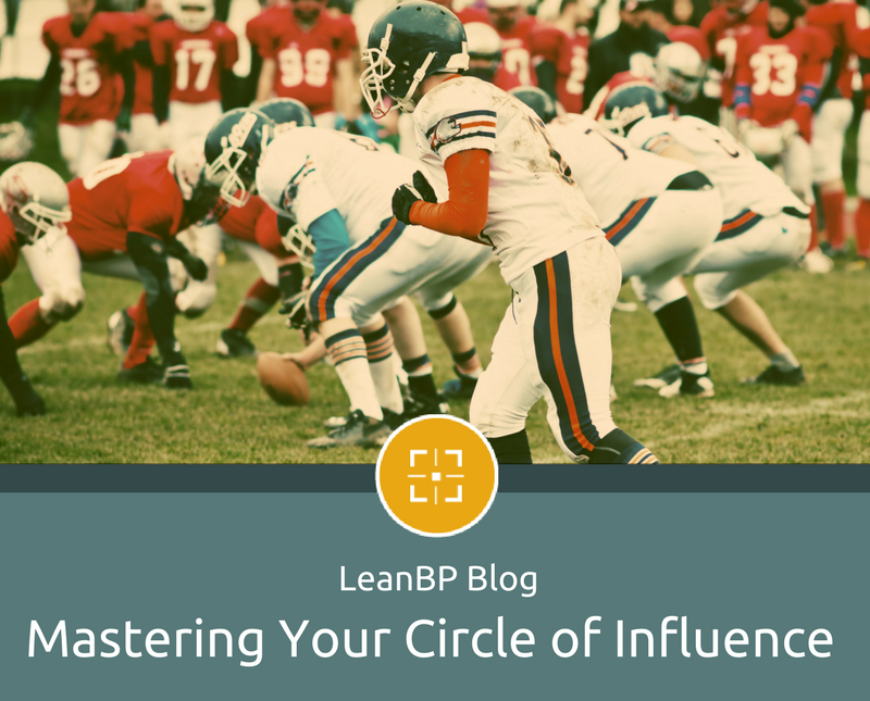 LeanBP Blog, Mastering Your Circle of Influence